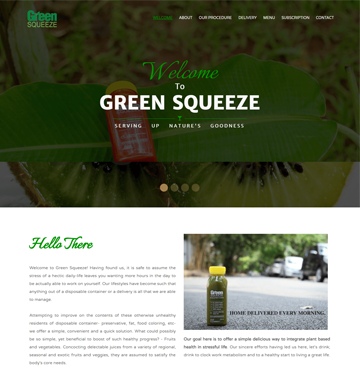 Green Squeeze